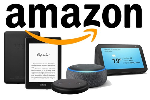 Echo Show, Dot o Input y Kindle Paperwhite rebajados esta semana en Amazon