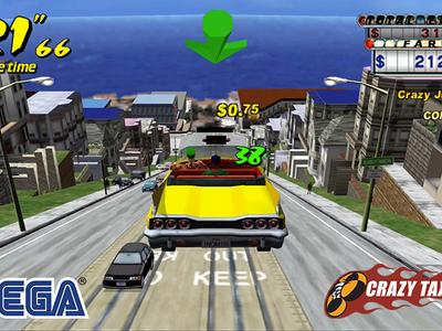 El clásico Crazy Taxi de Sega vuelve gratis a Android para celebrar el lanzamiento de su próxima entrega