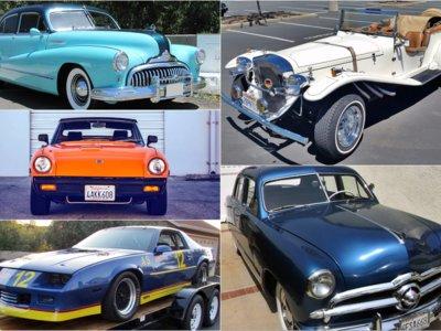 Tú también te podrías permitir comprar en Pebble Beach, aquí tienes los 10 coches más baratos que se han subastado