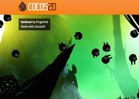 Badland es uno de los juegos hechos en Cocos2D
