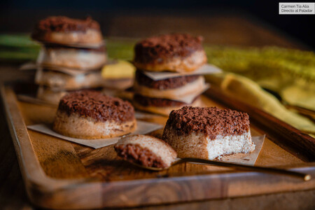 Mini Pasteles De Queso Y Baileys