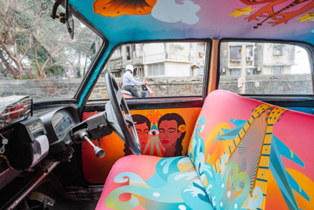 Taxi Fabric Mumbai India 10