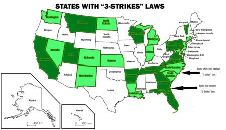 3 Strikes States