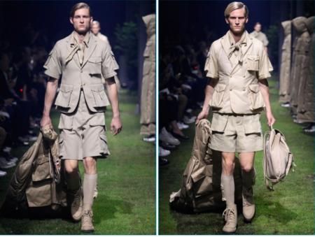 La estética boy scout chic se apodera de la propuesta SS2017 de Moncler Gamme Bleu