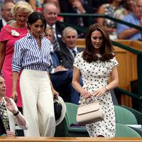 Meghan Markle y Kate Middleton duelo de estilo en Wimbledon