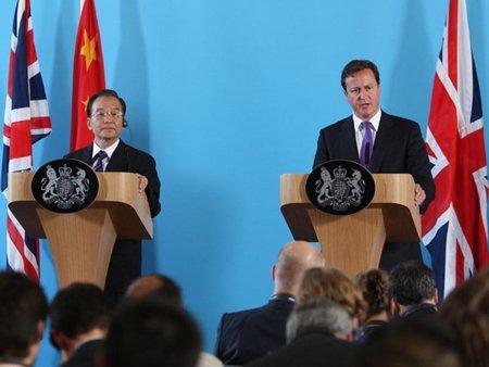 Cuando el Partido Comunista chino aplaude a David Cameron
