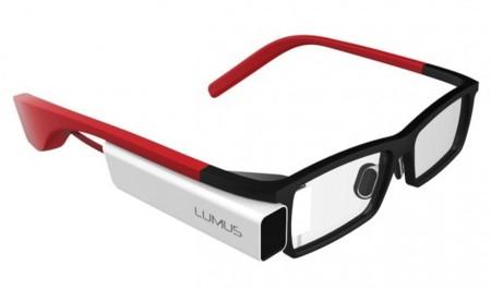 Lumus DK-40, un competidor para Google Glass con la lente derecha como pantalla