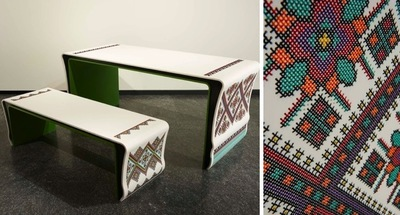 Ukrainian Patterns, bordados parecen... pero no lo son