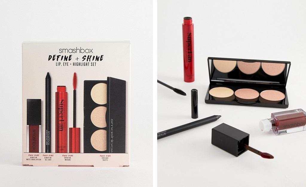 Set de maquillaje Define+Shine de Smashbox