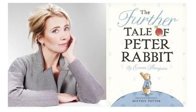 Emma Thompson inaugura la biblioteca de Peter Rabbit