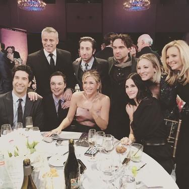 El día en que los protas de 'Friends' conocieron a los de 'The Big Bang Theory'