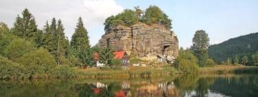 El terreno como perfecto camuflaje: el castillo rocoso de Sloup en República Checa