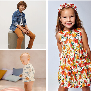 Moda infantil primavera-verano 2021: las últimas tendencias de Mayoral, Zara, H&M y Mango que te encantarán