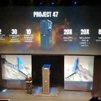 Project 47 es el supercomputador que ofrece 1 petaFLOP de rendimiento gracias a sus 80 GPUs Radeon Instinct