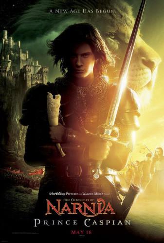 Póster de la segunda parte de 'Las Crónicas de Narnia', 'Prince Caspian'