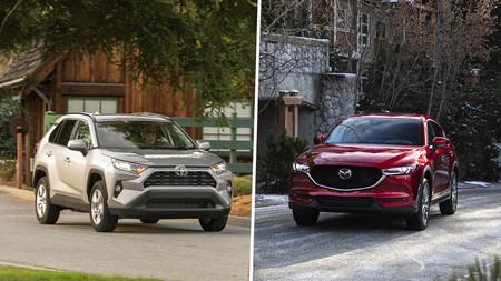 Toyota RAV4 XLE vs. Mazda CX-5 i Grand Touring: ¿Cuál conviene comprar?