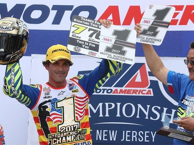 ¡Histórico Toni Elías!, primer español Campeón de MotoAmerica