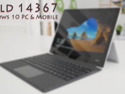 La Build 14367 llega a los Insiders dentro del anillo rápido en Windows 10 Mobile y Windows 10 PC