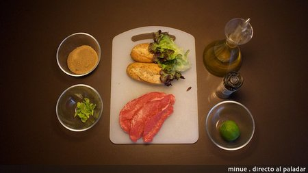 Baguettes tailandesas de ternera - ingredientes