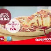 Telepizza, haz tu pedido online y te ahorras el IVA