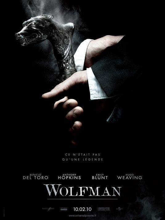 'El hombre lobo' ('The Wolfman'), carteles
