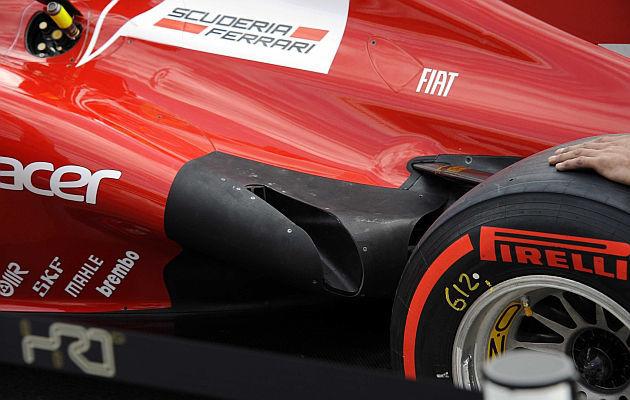 Nuevos escapes del Ferrari 2012