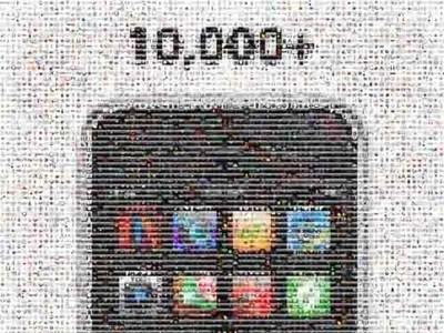 La imagen de la semana: 10.000 aplicaciones en la AppStore