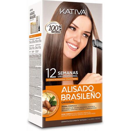 Kativa Kit Alisado Brasileno 9 75e