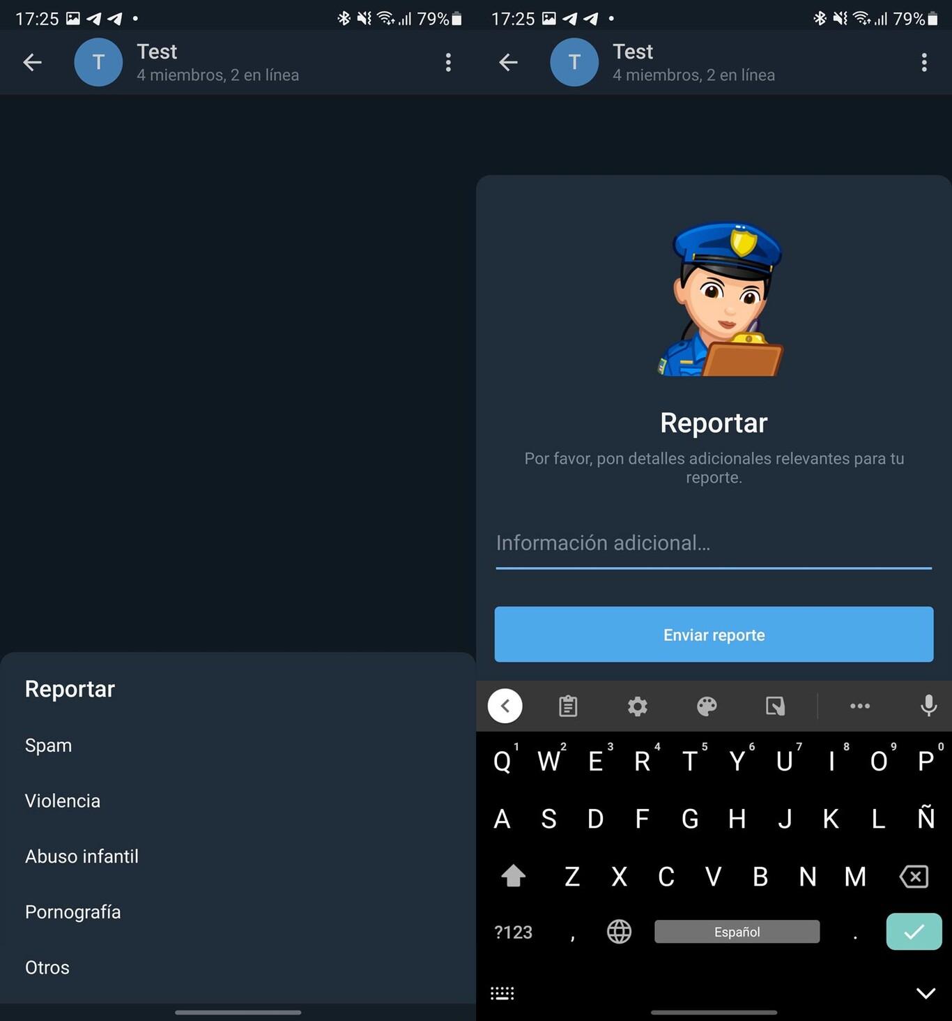 Últimas novedades de Telegram