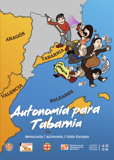 Tabarnia Libertad Cartel Arran Barcelona