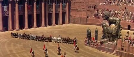 Escena Carrera Ben Hur