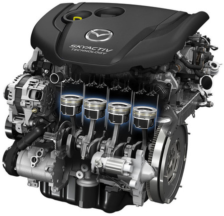 Mazda3 2013, mecánica y cadena cinemática