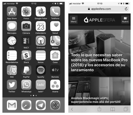 Cómo activar la escala de grises en iOS y por qué es importante