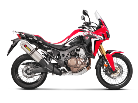 Ya puedes adquirir tu escape Akrapovič Slip-On para la Honda CRF1000L Africa Twin