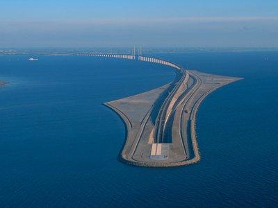Así es el puente-túnel de Oresund, la increíble obra que une Suecia con Dinamarca y el resto de Europa