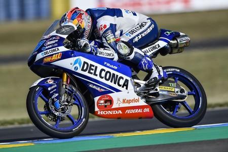Jorge Martín se hace en Le Mans con su tercera pole consecutiva de la temporada en Moto3