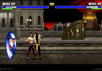 Mortal Kombat VS Street Fighter: Round 2 (Actualizado)