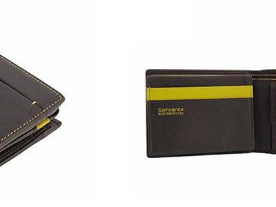 Seguridad para tus tarjetas contactless: cartera de piel Samsonite con tecnología RFID por 21,34 euros  en Amazon (Preventa)