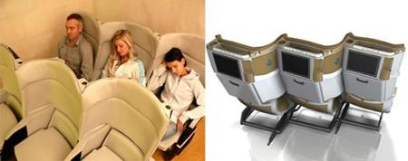 Nuevos asientos de Delta Airlines