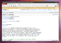 ScribTex, un interesante editor de LaTeX online