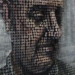 Foto 3 de 7 de la galería retratos-hechos-con-clavos en Decoesfera