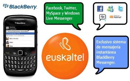 Euskaltel, el primer OMV en ofrecer servicio Blackberry