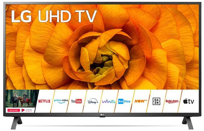 "TV LED 163,9 cm (65"") LG 65UN85006LA 4K con Inteligencia Artificial, HDR Dolby Vision IQ y Smart TV"