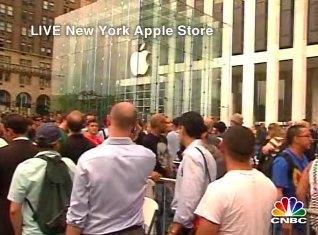 Imagen de la semana: La locura del iPhone ha comenzado (más aún)