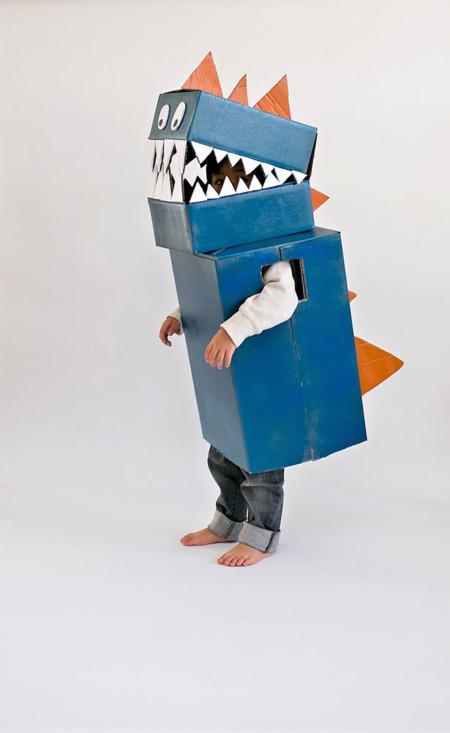 5 Diy Cardboard Dinosaur Costume