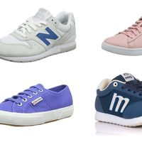 Chollos en tallas sueltas de zapatillas Superga, Puma, New Balance o Mustang en Amazon