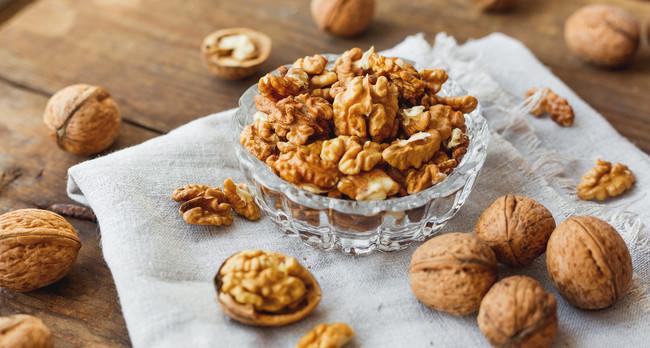 Nueces: poseen compuestos protectores del cerebro