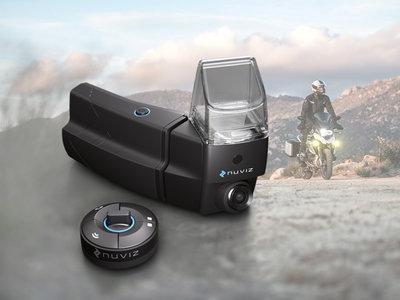 NUVIZ, el dispositivo HUD que convierte tu casco en un casco 2.0, ya es una realidad y cuesta 699 euros
