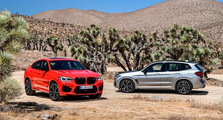 Los SUV deportivos BMW X3 M y X4 M ya tienen precio para España: desde 109.900 y 111.900 euros