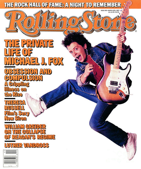 Rolling Stone Cover Volume 495 3 12 1987 Michael J Fox